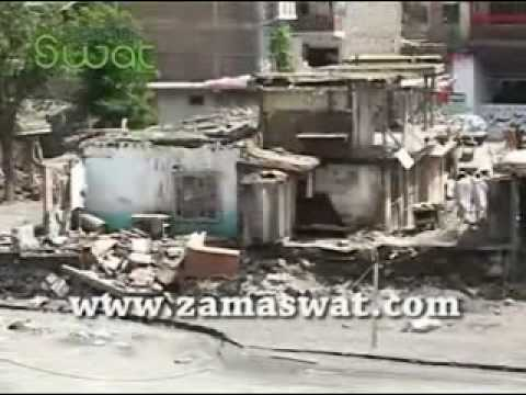 Kalam Swat Flood 29-7-2010.avi video