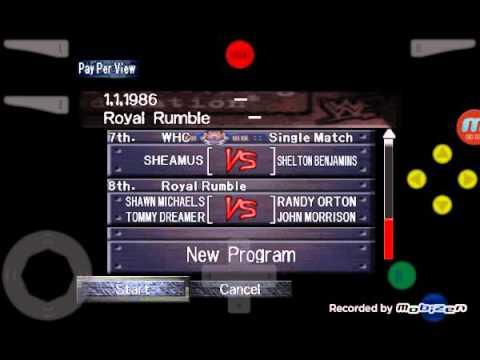 WWF Wrestlemania 2011 EP.8 part 1/4 Royal Rumble