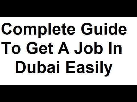 How To Get Job In Dubai, Abu Dhabi in 7 Days