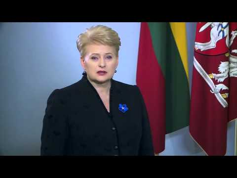 Neužmirštuolė: Dalia Grybauskaitė