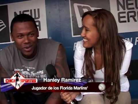 Entrevista a Hanley Ramirez con La Chica Deportes