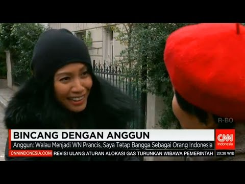Anggun - Exclusive Interview with CNN Indonesia at Paris [18/12/2015]