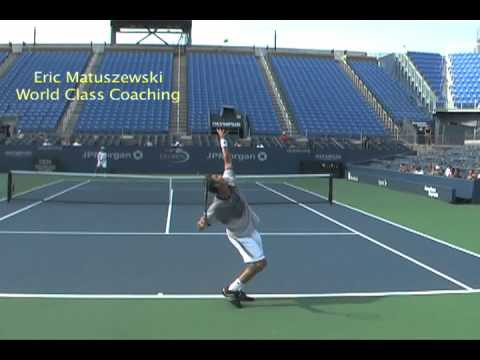 Marat Safin Kick serve 1ft over Dominik Hrbaty's head