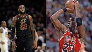 Micheal Jordan vs Lebron James (Official Music Video)