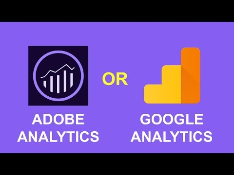 Adobe Analytics vs Google Analytics comparison (2018) - Part 1