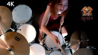 Fat Bottomed Girls (Queen); drum cover by Sina