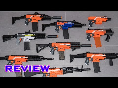 [REVIEW] 3D Printed Nerf Stryfe Cosmetic Kits   3D TACTICS!