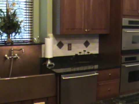 Copper sinks blended with stainless steel appliances youtube for Rachiele sink complaints
