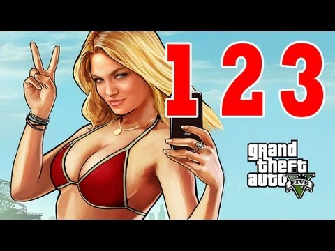 Let´s Play Grand Theft Auto 5 / GTA V Gameplay Deutsch - Part 123 - Fluchtwagen 1 und 2