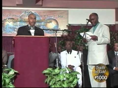 Pastor Gino Jennings Truth of God Broadcast 1000-1001 Philadelphia, PA