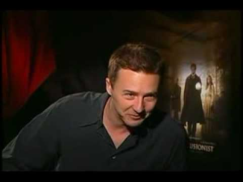 The Illusionist Edward Norton interview
