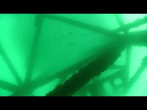 2011June3 Scuba Dive on Oil Rig MP-175 - 50 miles south of Pascagoula Mississippi