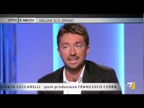 Andrea Scanzi sul successo del Movimento 5 Stelle (Otto e mezzo, 4 marzo 2013)