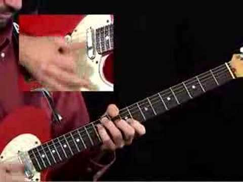 Country Guitar Lesson - Big Twang Western Swing Rhythm 2 Breakdown - Joe Dalton