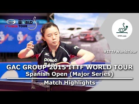 Spanish Open 2015 Highlights: JEON Jihee vs HIRANO Sayaka (FINAL)