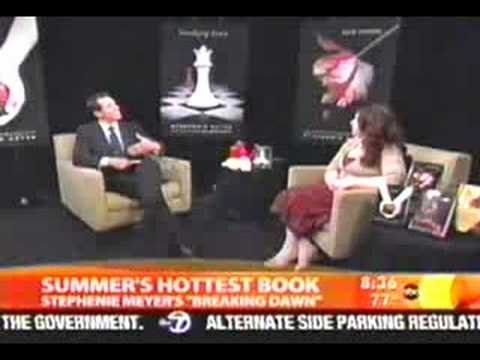 Stephenie Meyer on Good Morning America 7/30 Video