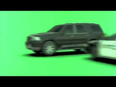 Green Car Crash Green Screen Chroma fx Cop Car