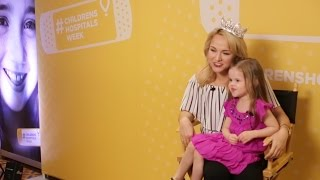 CLAIRE MEETS MISS AMERICA AND SINGS FOR CHILDREN'S HOSPITAL