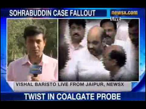 Sohrabuddin case: BJP defends Kataria, protests against CBI