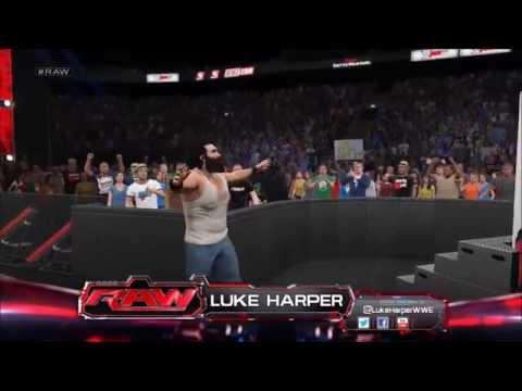 IWWE 2K15 - Luke Harper Needs Push