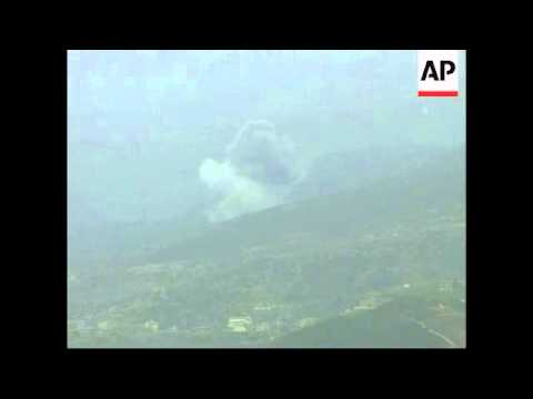 Israeli planes bomb suspected Hezbollah targets, Hezbollah comment