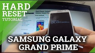 SAMSUNG Galaxy Grand Prime - Android Master Reset
