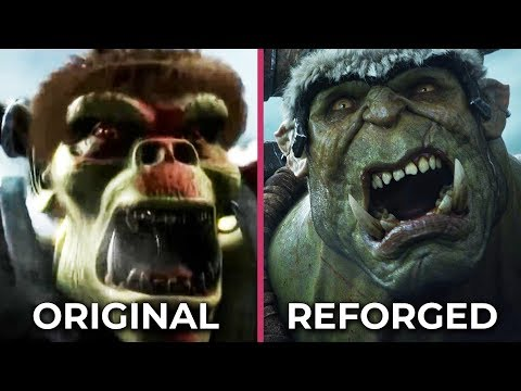 Warcraft 3 – Original vs. Reforged The Prophecy Intro Cinematic Comparison