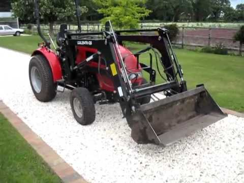 Used Mahindra Tractor for sale with front loader