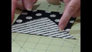 "How to make a Square Block using 5""squares - Quilting Tips & Techniques 036"