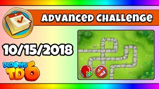 BTD6 Advanced Daily Challenge (THE FIRST; HALF CASH) - October 15, 2018