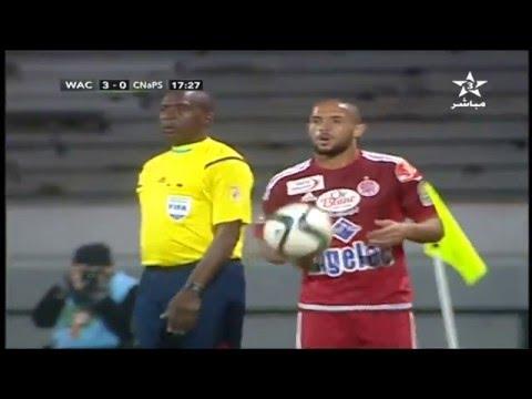 CL 2015-2016 Wydad Maroc  vs Cnaps Sport Madagascar 1ere Mi-Temps 12/03/2016