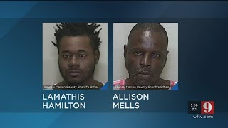Video: Two suspects behind bars after murder for hire plot