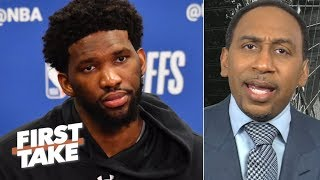 'Are you doing what it takes to win a championship?!' – Stephen A. calls out Embiid | First Take