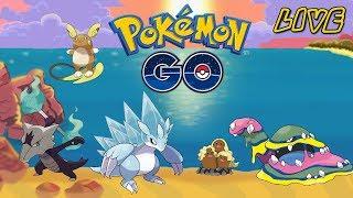 LIVE! - Pokémon GO - Raids, Grinding & trading!