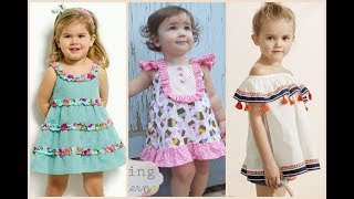 Summer baby frocks design  creative ideas with different styles
