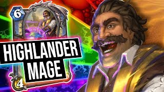 Highlander Mage Is Actually a Thing 😱    Saviors of Uldum   Hearthstone