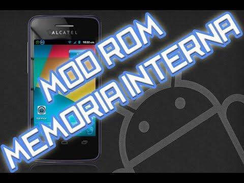 Como instalar Mod'Rom Alcatel 4010a T'pop y aumentar memoria interna [Root]