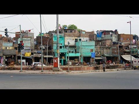 Walking in Old Delhi (India)
