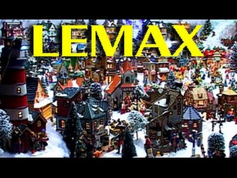 Ultimate Lemax Miniature - Christmas Village - YouTube