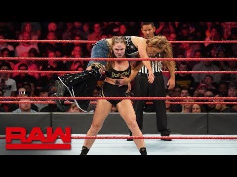 Ronda Rousey vs. Mickie James - Raw Women's Championship Match: Raw, Nov. 19, 2018 thumbnail