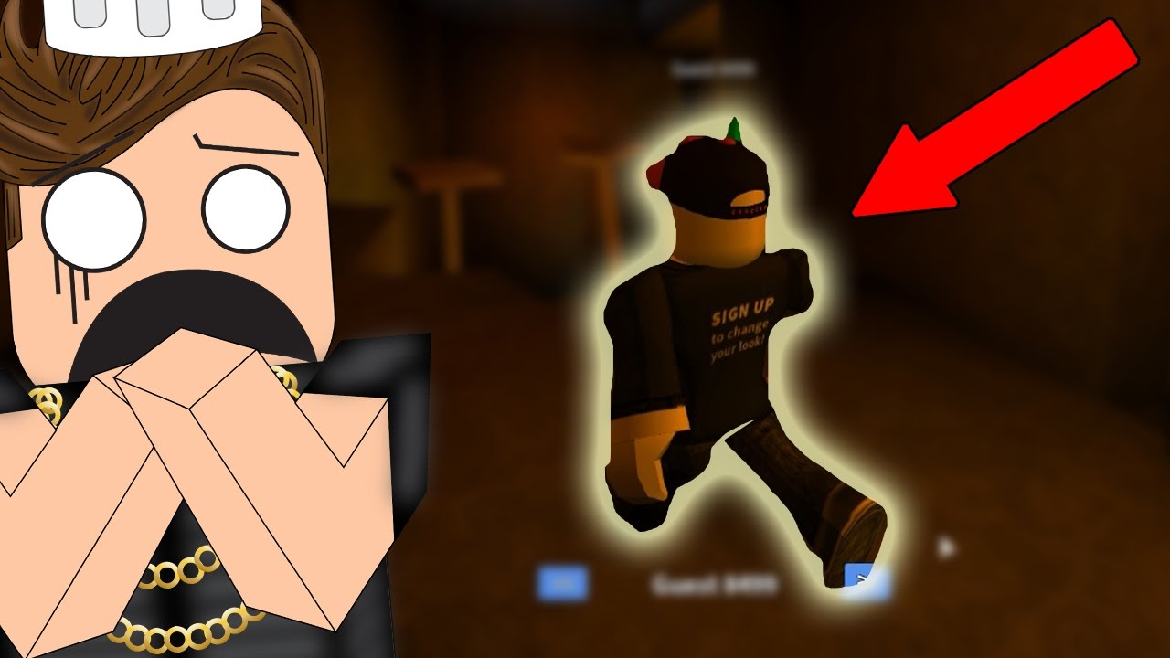 This Guest Hacked Out Of The Map Roblox Assassin Youtube