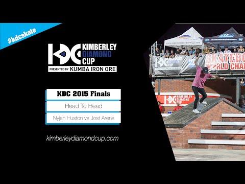 KDC 2015 Street Finals: Nyjah Huston vs Jost Arens