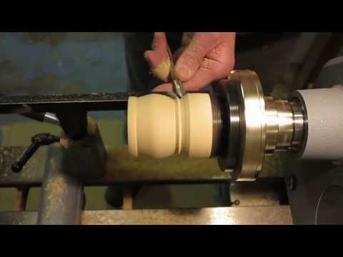 Wood Turning - A Jewelry or Trinket Box