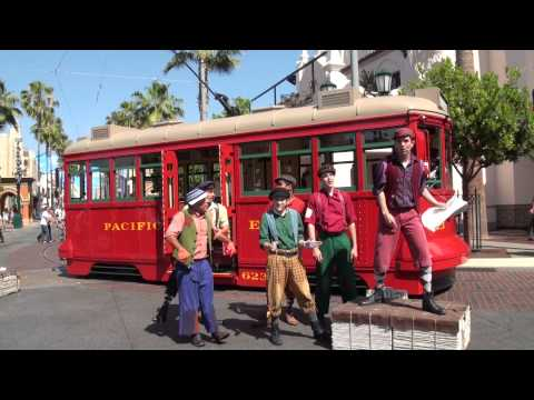 Red Car News Boys 2013 at Disney California Adventure