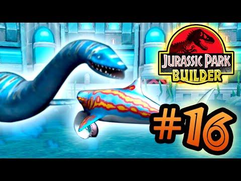 Jurassic Park Builder: Tournament: Part 16 HD Lochness Monster!