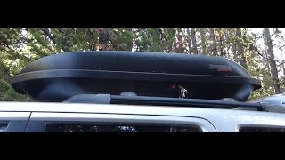 Great SUV / Car Cargo Carrier! Review of Yakima Rocketbox