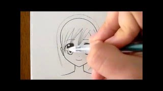 How to Draw Manga Hair, Three Ways