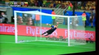 David luiz goal v Columbia