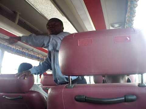 FUNNY Ghanaian Pastor Preaching on Kumasi - Accra VIP Bus.  Watch Evangelist Oduro