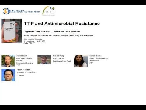 TTIP and Antimicrobial Resistance
